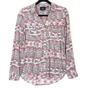 Maeve Moroccan Pattern Islet blouse A0188